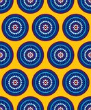 Abstract seamless pattern for printing on paper and textiles. stock illustration