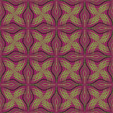 Abstract  seamless pattern purple green Stock Photography