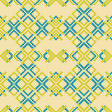 Abstract seamless pattern of rectangular elements Royalty Free Stock Image
