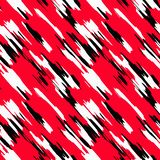 Abstract seamless pattern with red and black lines. Back royalty free illustration