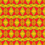 Abstract seamless pattern. Abstract seamless red green orange retro pattern Royalty Free Stock Images