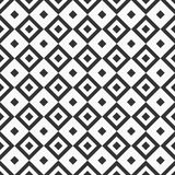 Abstract seamless pattern. Repeating geometric tiles with rhombuses. Stock Image