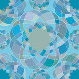Abstract seamless pattern of the repeating mosaic elements. Stock Images