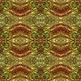 Abstract seamless pattern resembling snake skin Stock Image
