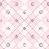 Abstract seamless pattern of rhombuses with triangles inside. Royalty Free Stock Photo