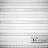 Abstract seamless pattern ribbon bow mesh. white texture backgro Royalty Free Stock Image