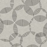 Abstract seamless pattern of rings. Vector Stock Photos