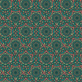 Abstract Seamless Pattern with Round Elements Royalty Free Stock Photography