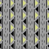 Abstract Seamless Pattern. Seamless Pattern with Triangles. Gold black and white triangle Pattern . Vector illustration. Eps 10 Royalty Free Stock Photography