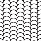 Abstract seamless pattern - semicircular segments Royalty Free Stock Photo