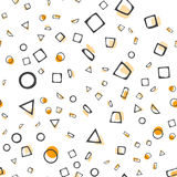 Abstract seamless pattern. Simple style. For web design stock illustration