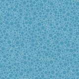 Abstract seamless pattern small blue circles texture background.  stock illustration