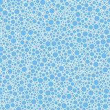 Abstract seamless pattern small blue circles texture background. Abstract seamless pattern small funny blue circles texture background royalty free illustration