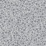 Abstract seamless pattern small grey circles texture background.  stock illustration
