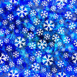Abstract seamless pattern with snowflakes. Vector, EPS10 Stock Photos