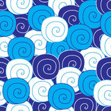 Abstract seamless pattern with spirals Stock Photos