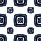 Abstract Seamless pattern with square  on white Stock Photo