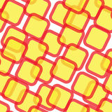 Abstract seamless pattern with squares Royalty Free Stock Photography