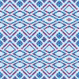 Abstract seamless pattern of squares. Geometric waves and kinks. Pattern for panels and fabrics Stock Photo