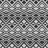 Abstract seamless pattern of squares. Geometric waves and kinks. Pattern for panels and fabrics stock illustration