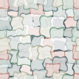 Abstract seamless pattern with squares shapes. Stock Photo