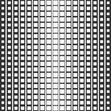 Abstract seamless pattern of squares. A smooth transition from one form to another. Stock Photography