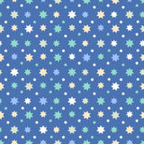 Abstract Seamless Pattern with stars. Beautiful vector design stock illustration