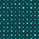 Abstract Seamless Pattern with stars Stock Photo