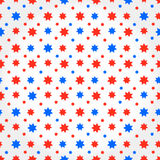 Abstract Seamless Pattern with stars Royalty Free Stock Photo