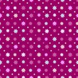 Abstract Seamless Pattern with stars. Endless texture can be used for wallpaper, pattern fills, web page background, surface texture stock illustration