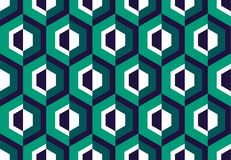 Abstract seamless pattern for surface design, Stock Image