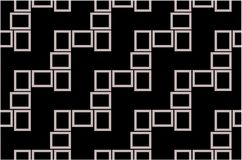 Abstract seamless pattern texture of grey rectangular frames over black background template Vector illustration. Computer graphic design cartoon illustration vector illustration