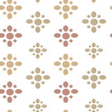 Abstract seamless pattern texture with soft color on white background Stock Images