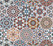 Abstract seamless pattern tiles Royalty Free Stock Photography