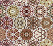 Abstract seamless pattern tiles Royalty Free Stock Image