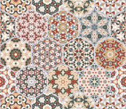 Abstract seamless pattern tiles Stock Image