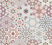 Abstract seamless pattern tiles Stock Photos