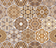 Abstract seamless pattern tiles Royalty Free Stock Photos