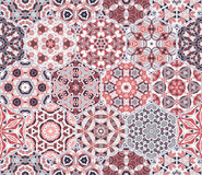 Abstract seamless pattern tiles Royalty Free Stock Images