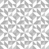 Abstract seamless pattern with triangles Royalty Free Stock Image