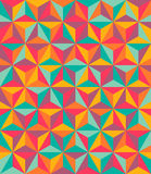 Abstract seamless pattern. Triangles colorful abstract seamless pattern Stock Illustration