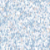 Abstract seamless pattern of triangles. Shades and gradients of geometric shapes. Diagonal lines Stock Image