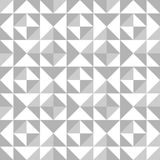 Abstract seamless pattern with triangles Stock Image