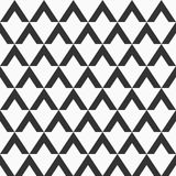Abstract seamless pattern of triangular elements. Modern stylish texture. Repeating geometric tiles. Design for print, fabric, cloth, textile, decoration stock illustration