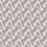 Abstract seamless pattern with triangular elements Royalty Free Stock Photography
