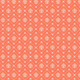 Abstract seamless pattern. Vector background in orange and white colors. Abstract seamless pattern. Vector background in red and white colors. Can be used for Stock Illustration