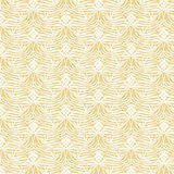 Abstract seamless pattern. Vector background in yellow and white colors. Can be used for wallpaper, pattern fills, surface textures, scrapbooking, fabric vector illustration
