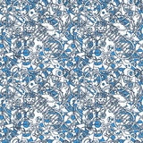 Abstract seamless pattern. Vector Royalty Free Stock Image
