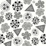 Abstract seamless pattern. Royalty Free Stock Photography