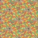 Abstract seamless pattern. Vector illustration of colorful abstract seamless pattern stock illustration